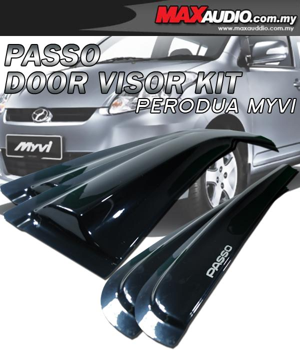 PERODUA MYVI PASSO Style High Quality Anti UV Light Door Door Visor