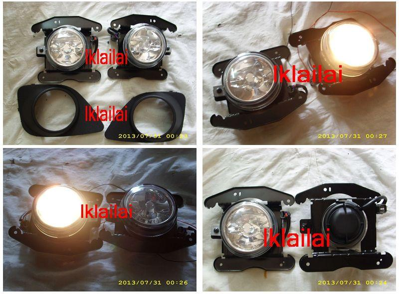 Perodua Viva Elite Fog Lamp Set with Cover