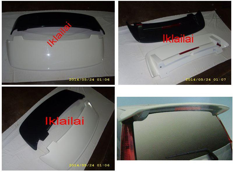 Perodua Viva Valliant Style Spoiler with LED