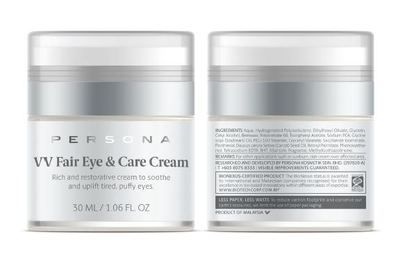 Persona Kosmetik VV Fair Eye & Care Cream
