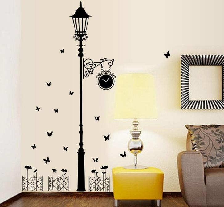 Personalized Corridor Lights Wall Sticker W6033