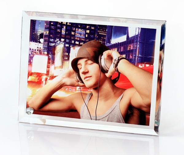 Personalized/Customize Crystal Photo Frame 18*23*0.5cm,Photo in Glass