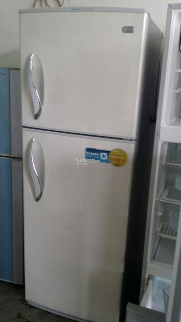 Peti Ais LG Sejuk Refrigerator Fridge Refurbish Recondition 2 Pintu