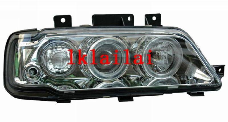 Peugeot 405 Projector LED Ring HeadLamp Cool Starline DRL R8+Angel Eye