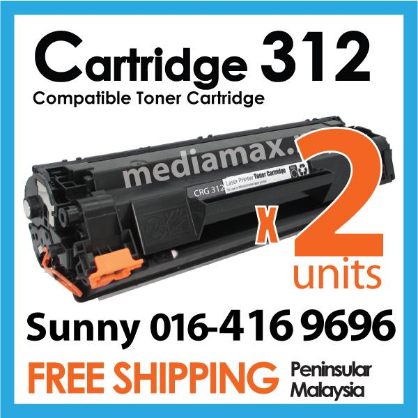 PG Cartridge 312/CRG312@Compatible Canon-LBP 3010/3018/3050/3100/3150