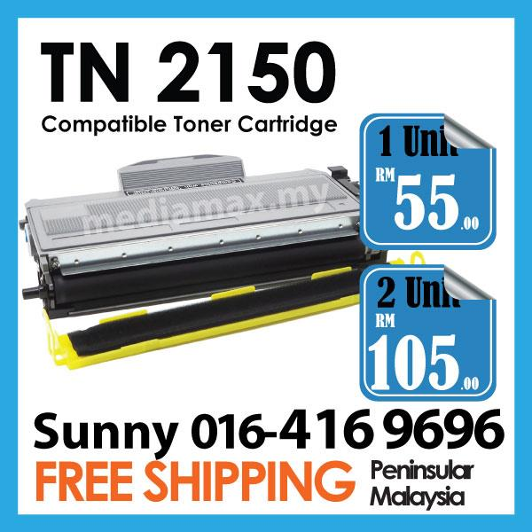 PG TN2150 TN Compatible@Brother DCP 7030/7040/7045N/HL 2140/2150/2170