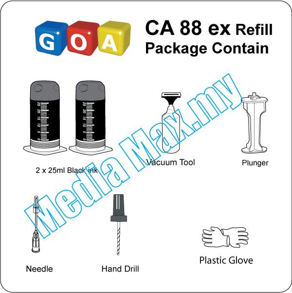 PG810 Black Refill Canon Ink Cartridge 810 ip2770 ip2772 MP 258 278 BK