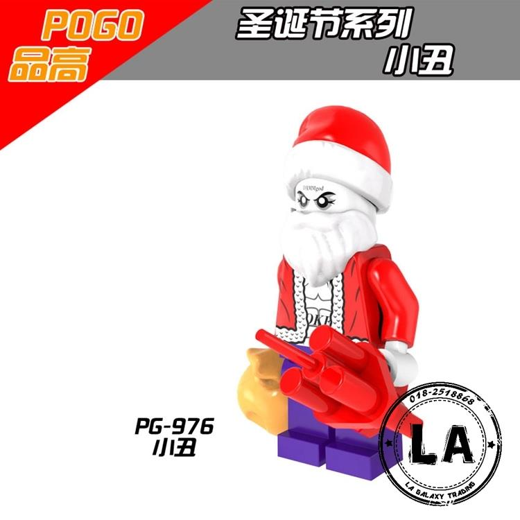 PG976 Christmas Joker Minifigure Model Toys for children