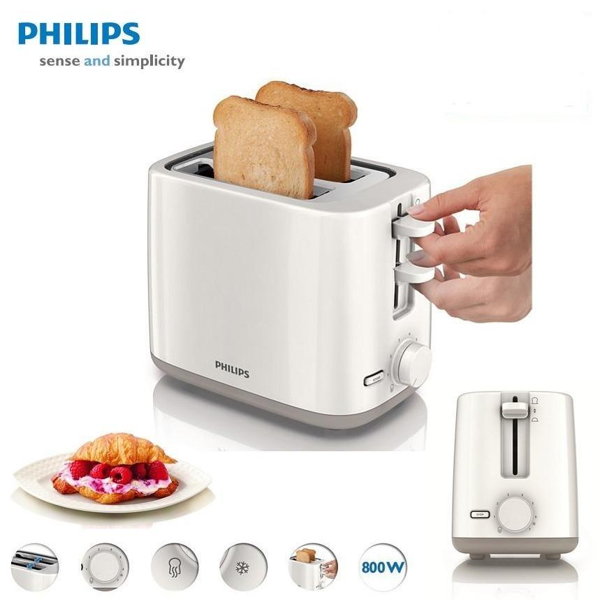 Philips 2 Slice Pop Up Bread Toaster Hd2595 End 4 26 2016