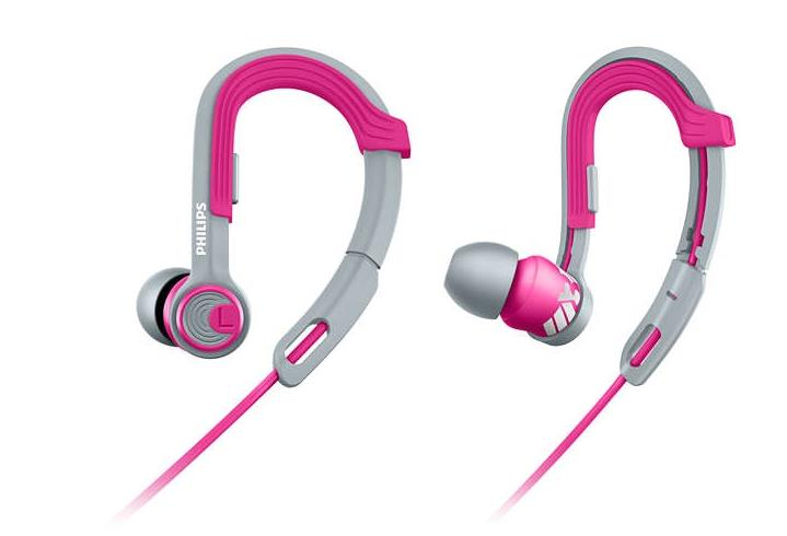 PHILIPS ACTIONFIT SPORTS IN EAR EARPHONE SHQ3300 (PINK)