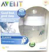 Philips AVENT - CLASSIC 2x Feeding Bottles 4oz/125ml