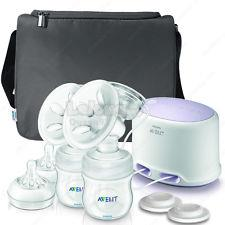 Philips AVENT Double Electric BreastPump SCF334/02