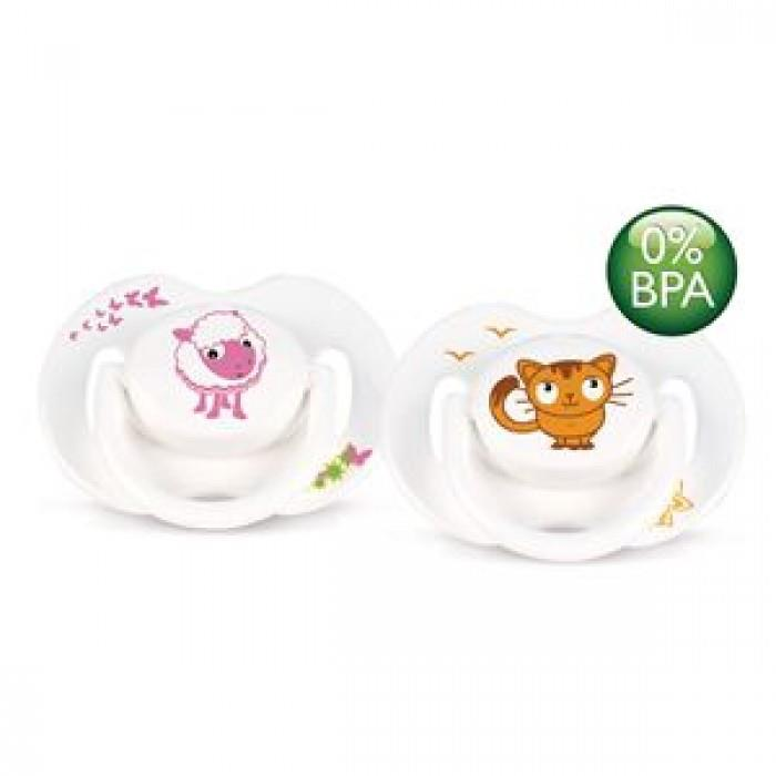 Philips Avent Fashion Cute Animal Baby Soother BPA Free 6-18 months