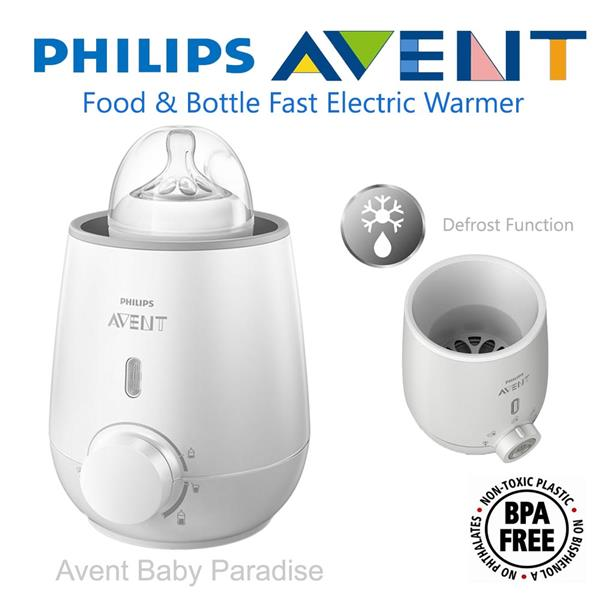 how to use philips avent bottle warmer