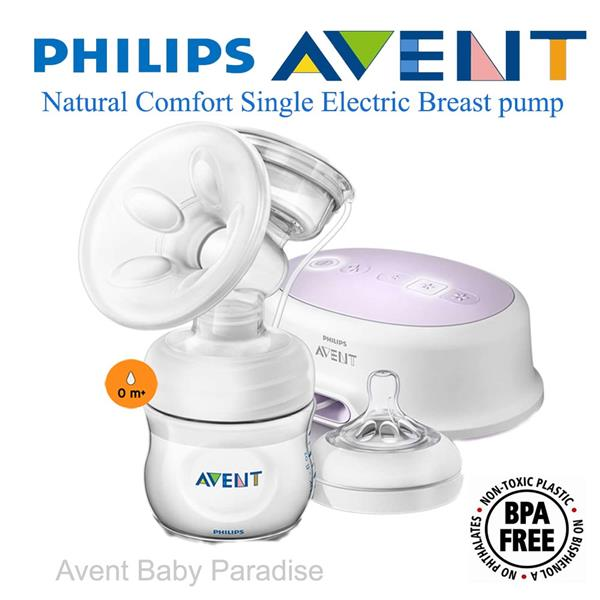 Philips Avent Natural Comfort Single Electric Breast pump (MADE IN UK)