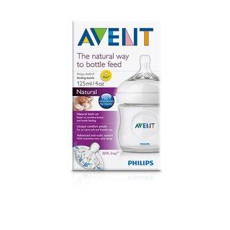 Philips AVENT - NATURAL Feeding Bottle 125ml / 4oz