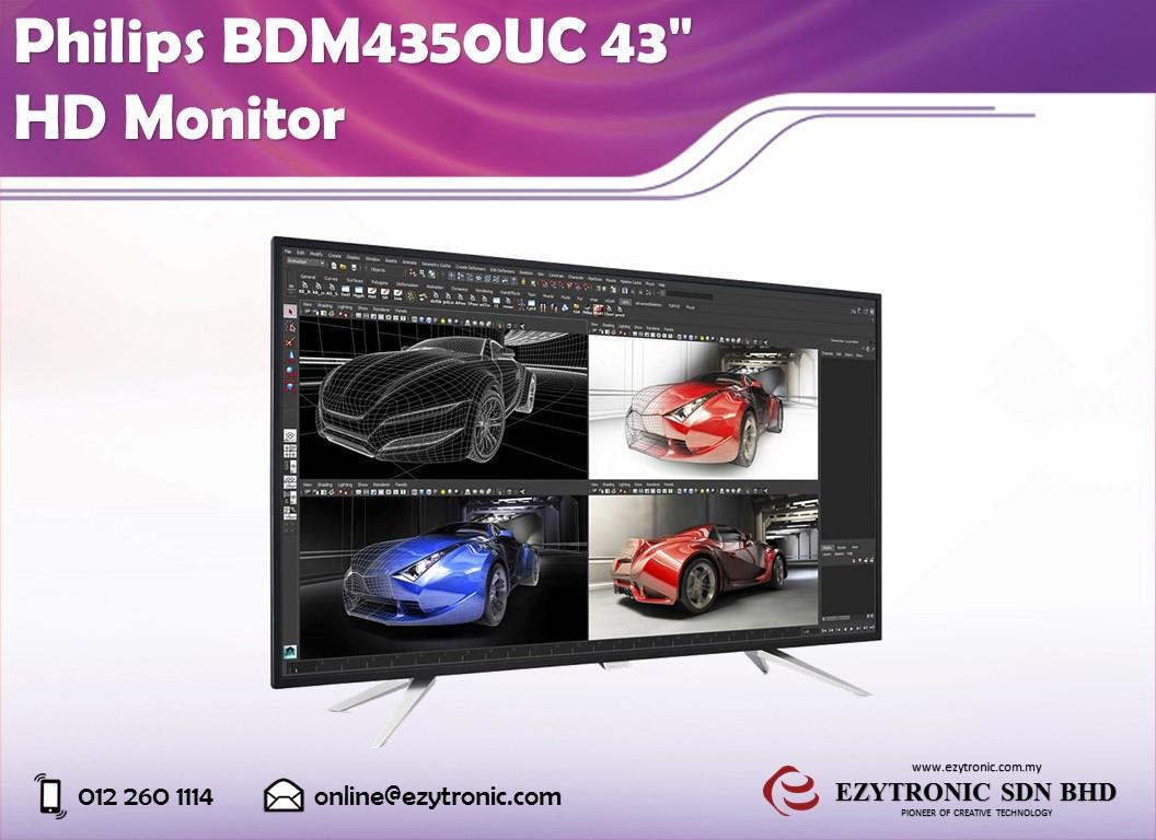 Philips BDM4350UC 43' HD Monitor