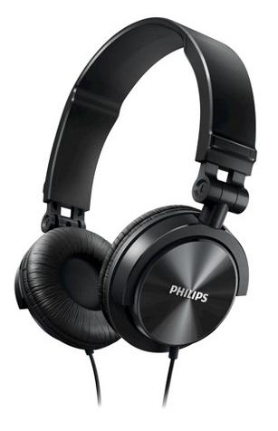 PHILIPS DJ STYLE MONITORING HEADPHONES SHL3060 BLACK