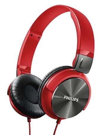 PHILIPS DJ STYLE MONITORING HEADPHONES SHL3160 RED