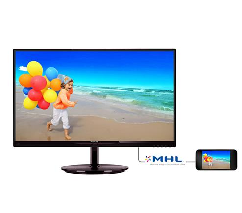 PHILIPS E-LINE 23' LED IPS MONITOR -BLACK (234E5QHSB)