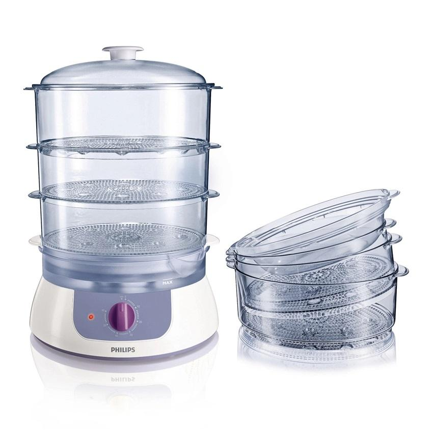 Philips PHI-HD-9120 900 Food Steamer - White