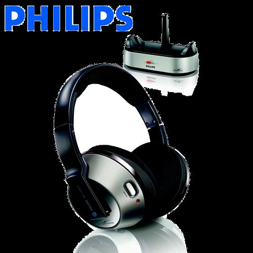 Philips SHC8540/30 RF Wireless Headphone-Automatic tuning
