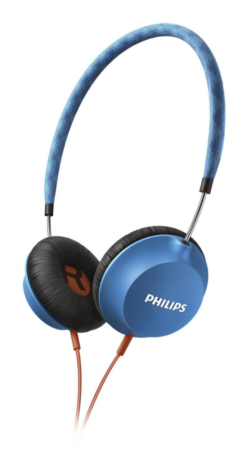 Philips SHL5100 Strada Headband Headphones - Blue