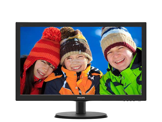 "PHILIPS V LINE 21.5"" LCD MONITOR WITH SMARTCONTROL LITE (223V5LHSB2)"