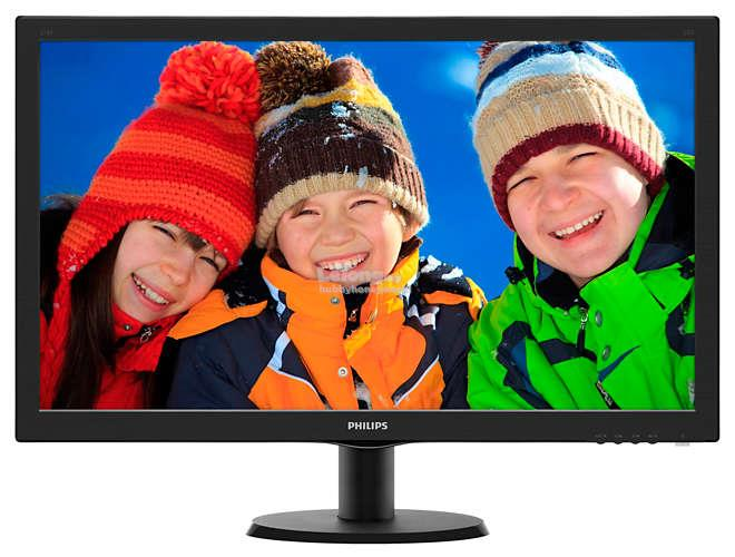 "PHILIPS V LINE 27"" LCD MONITOR WITH SMARTCONTROL LITE (273V5LHAB)"