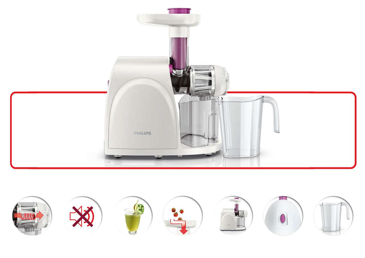 Philips Slow Juicer Hr1830 Review : Philips viva Collection Slow Juicer (end 6/17/2018 6:15 PM)
