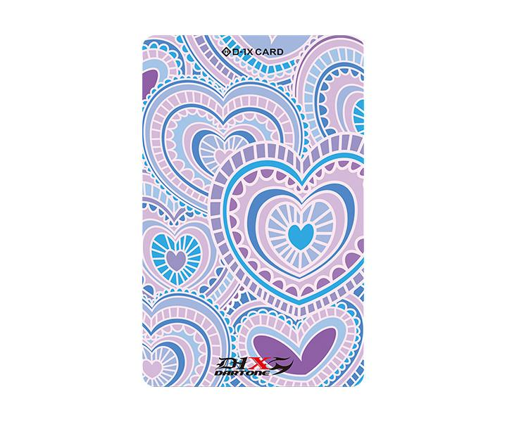 Phoenix Card - Heart - PURPLE
