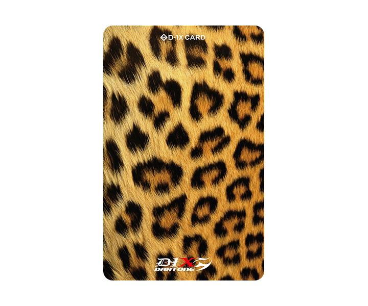 Phoenix Dart Card - Cheetah