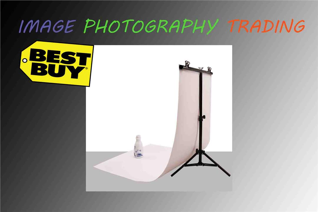 Photo Studio PVC Background Backdrop Support Stand