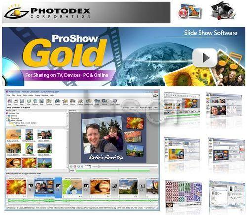 Photodex ProShow Gold 4.1.2711 with Style Packs with bonus