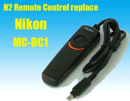Phottix Remote Switch MC-DC1 Nikon DSLR D70s D80