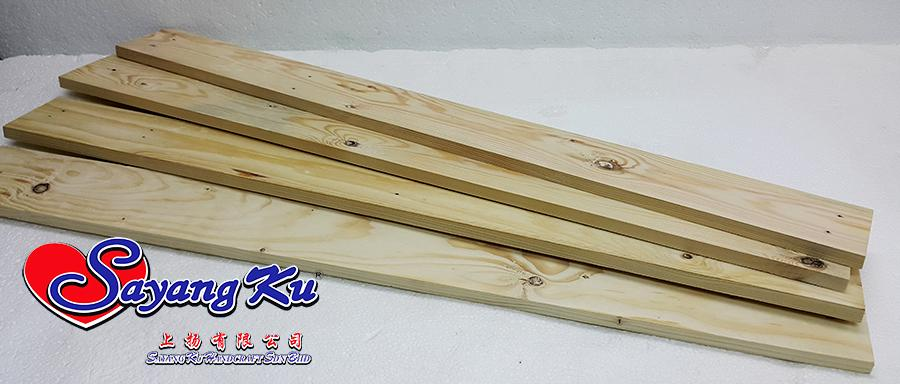 Pine wood board with size end pm