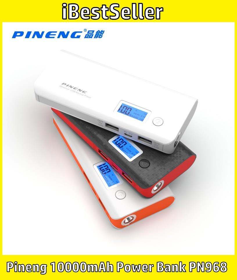 Pineng 10000mAh Power Bank PN968 10000mAh High Quality Power Bank