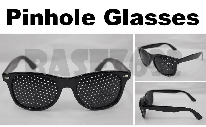 Pinhole  Pin Hole Glass Glasses Natural Healing Eyesight Improver