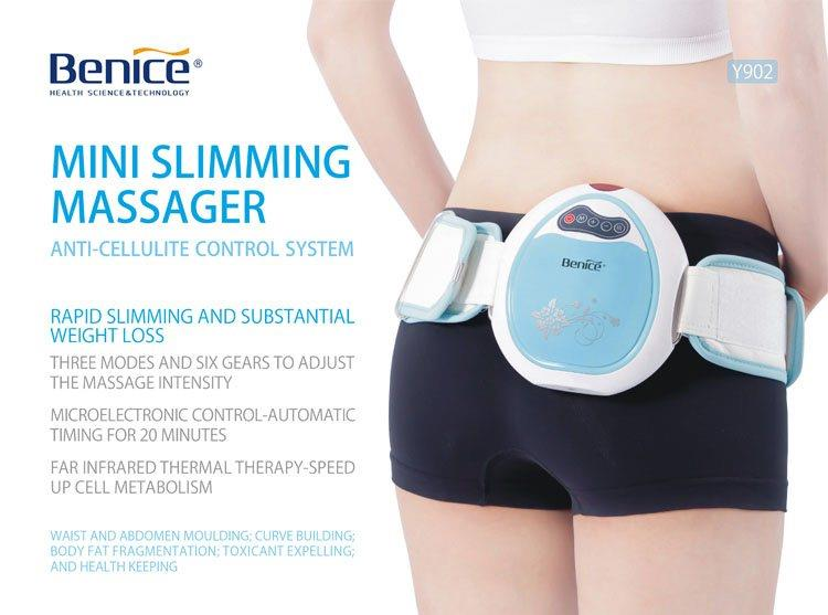 PINK Benice Infrared Heating Thermal Slimming Massager Big Belly Anti