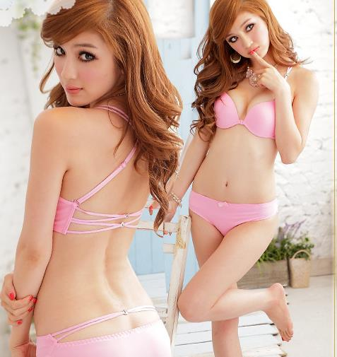 Pink Push-Up Bra Set 11375