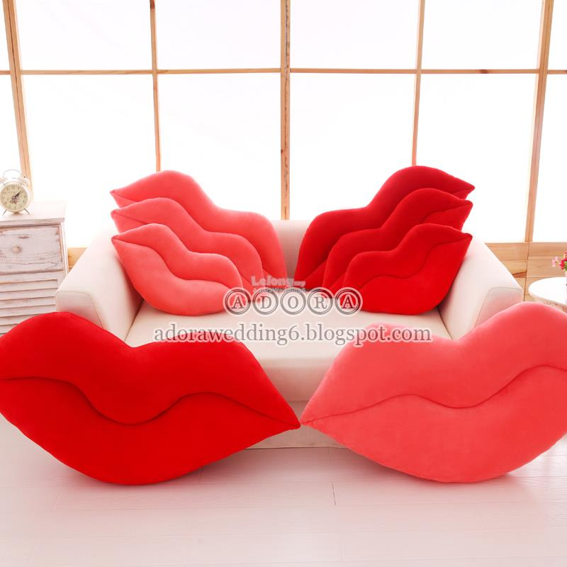 Pink/Red Lips Pillow 50/60/80cm/1m, Wedding Gifts