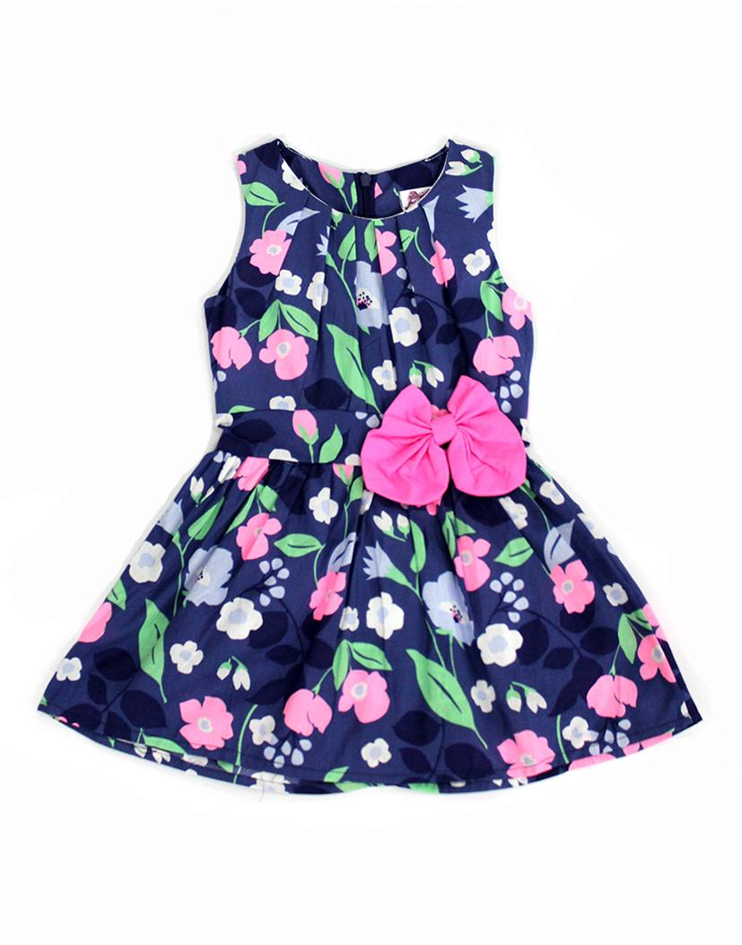 Pink Ribbon Lavender Flora Dress