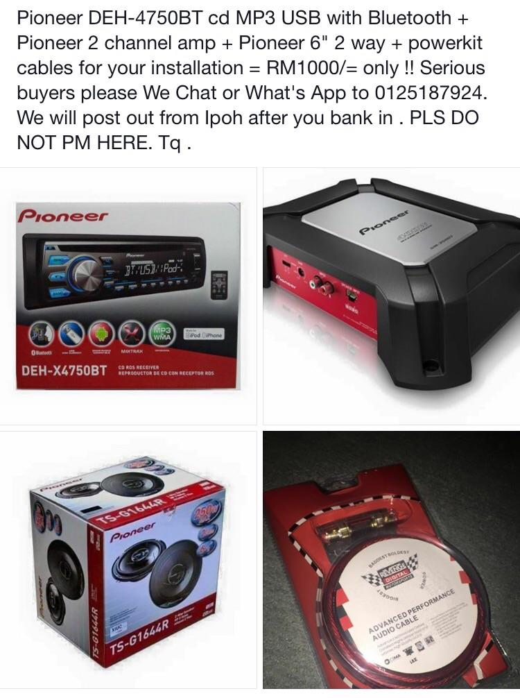 Pioneer 4 in 1 Package new launching