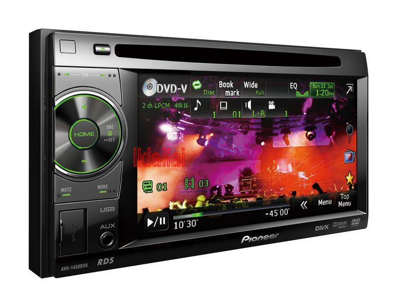 Pioneer AVH-1450DVD 5.8 Inch DVD Player USB Control for iPod/iPhone