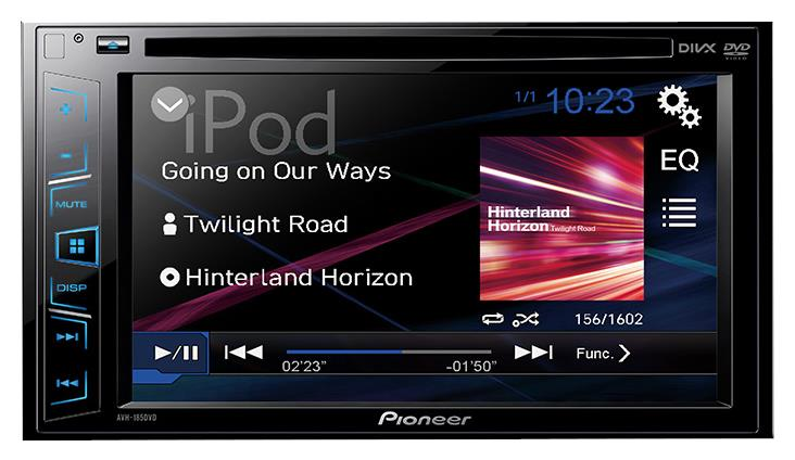 Pioneer AVH-195DVD 6.2' WVGA Direct control for iPod/iPhone