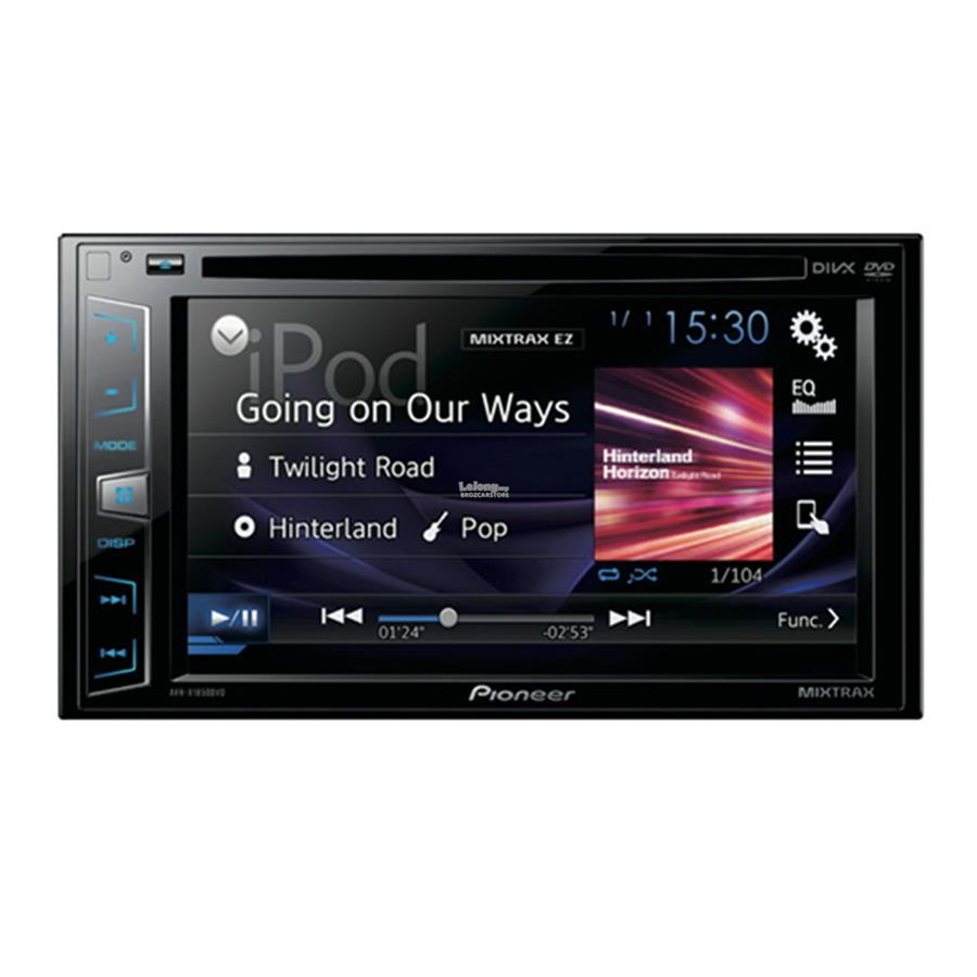 """Pioneer AVH-X1850DVD 6.2"""" for iPod/iPhone/Android"""