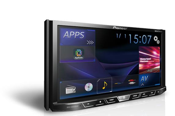 Pioneer AVH-X4850DVD 7'WVGA Direct Control for iPod/iPhone Android