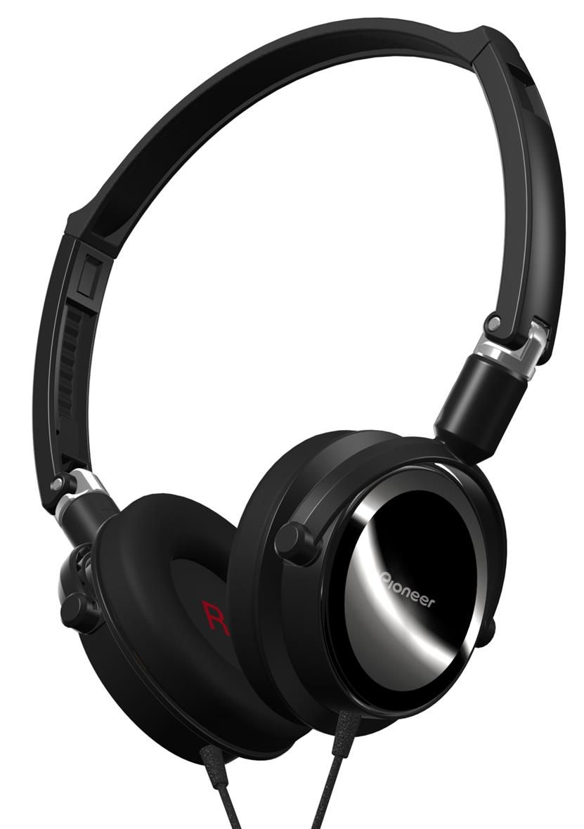 Pioneer Foldable Dynamic Headphones SE-MK511-K - Black