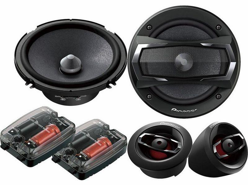 Pioneer TS-A1605C 6-inch Component Set Speaker 350W 2-Way ORI