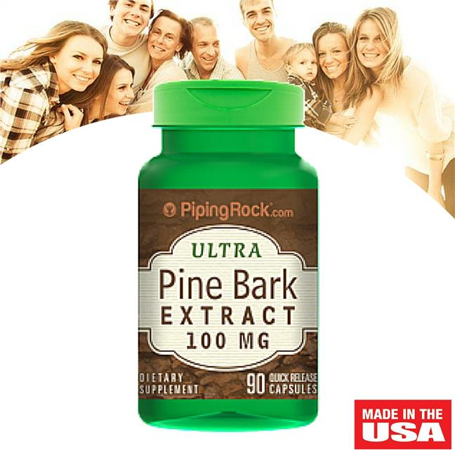 Piping Rock, Pine Bark Extract 100 mg 90 Capsules